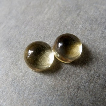 Citrine earring pair No.6