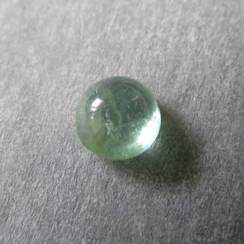 Light Emerald Zambia, cabochon no
