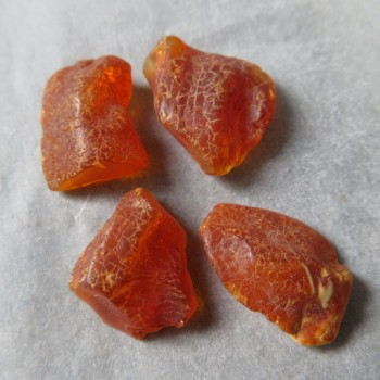 Raw natural Amber, Lithuania, set no.20